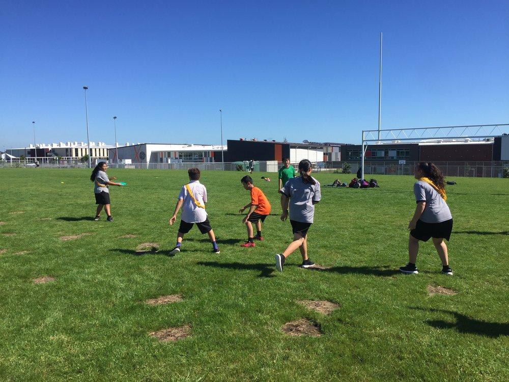 Whanau Ora (OJC's Physical Education) - Frisbee Module