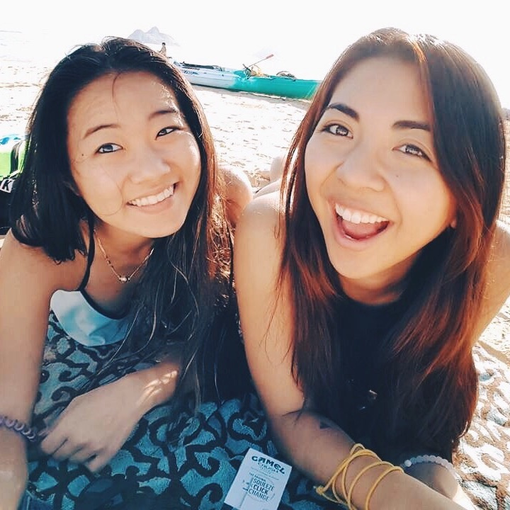 Jackie Moani Beach Friend