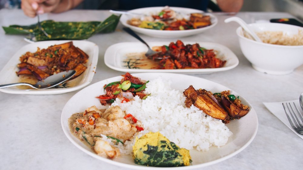 nyonya cuisine in Penang, malaysia