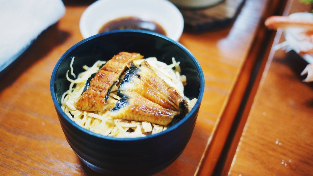 Unagi on rice