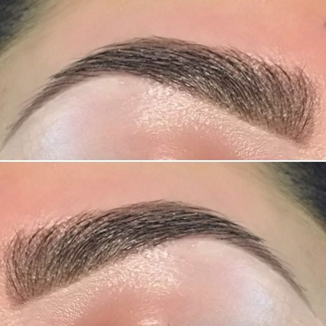 Beautiful, natural brow shape by Lindsey.  @lindseymcandrews  #seattle #seattlesalon #seattlebrows #modernsalon #behindthechair #seattlelife #downtownseattle #archaddicts #browsworldwide #browsonpoint #kbb #kelleybakerbrows