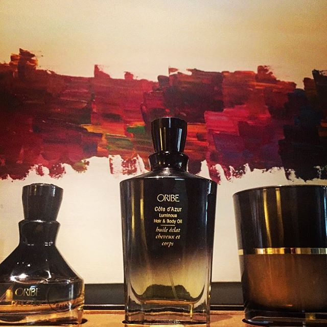 We love the Oribe fragrance line. It's smells amazing, and makes a wonderful gift! 🎁  #seattlesalon #marcotwounionsquare #seattlelife #seattlehair #oribe #downtownseattle #seattle #modernsalon #behindthechair