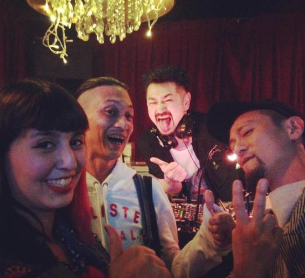 Me, Tetsu, Shirrow + Kama