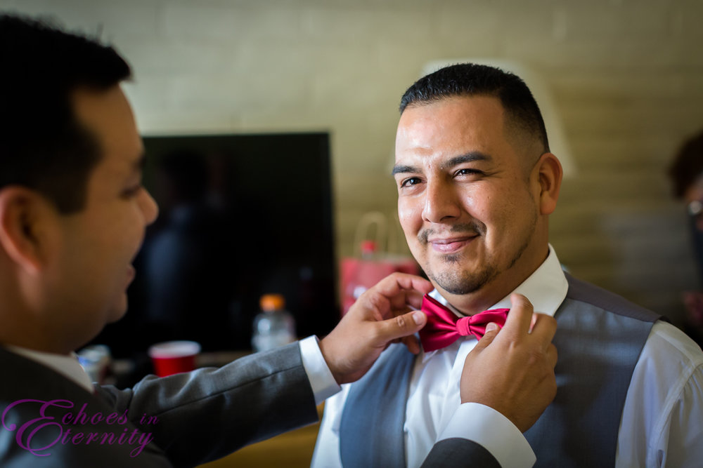 Randoph Golf Course Tucson Wedding Photographer 02 Groom Getting Ready.jpg