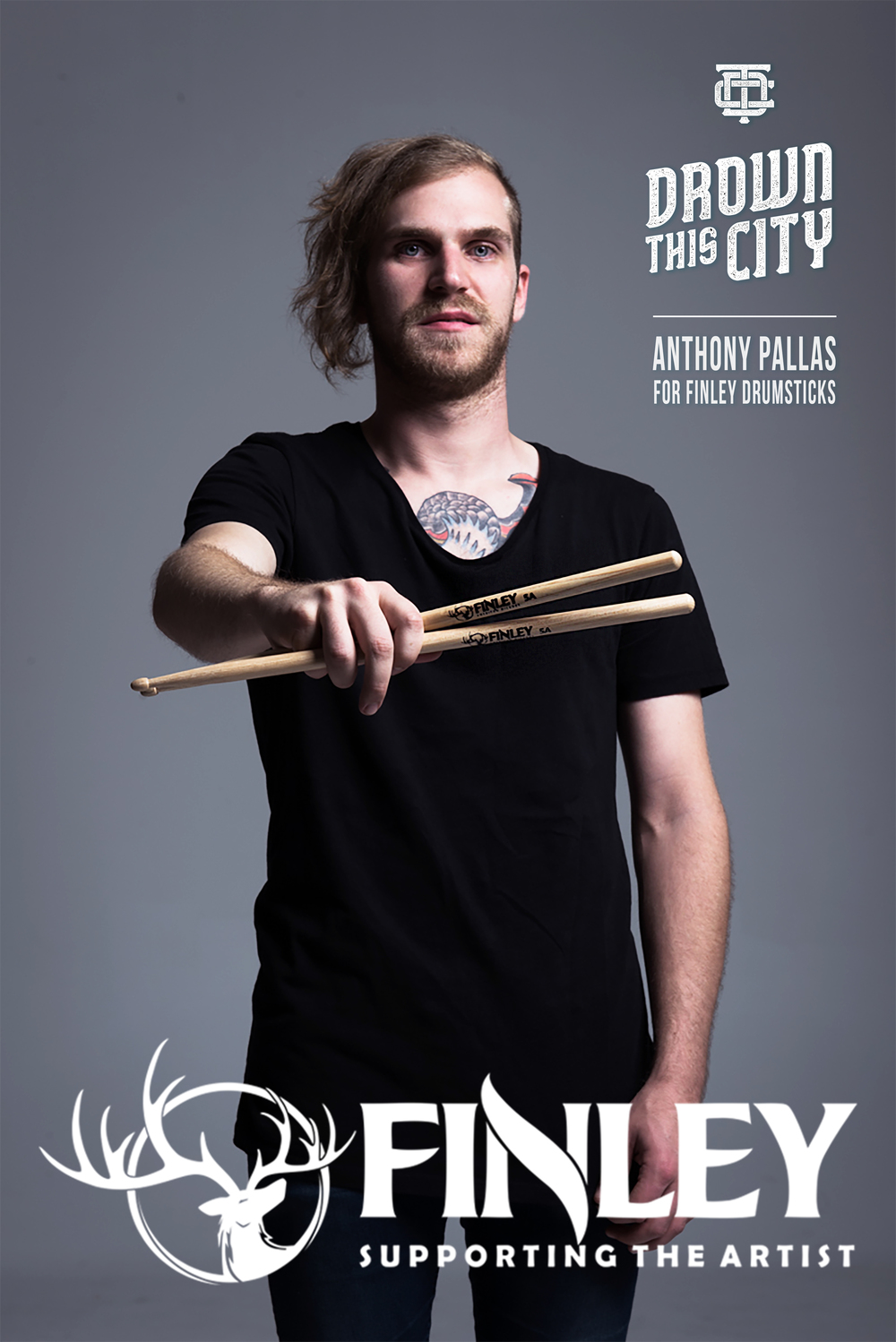 Anthony Pallas is now endorsed by Finley Drumsticks! Read the official release here: https://www.facebook.com/finleymusicaustralia/
