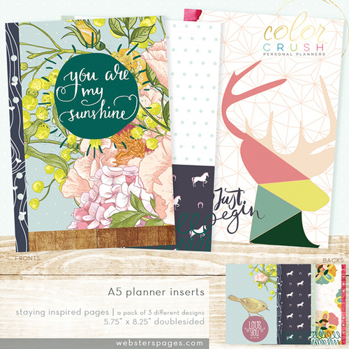 A5 Planner Inserts
