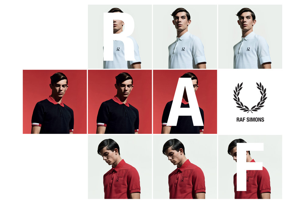 Raf Simons x Fred Perry