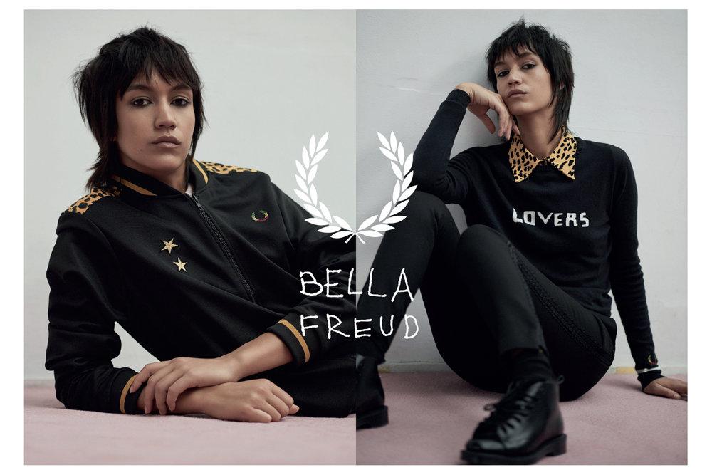 Bella Freud x Fred Perry