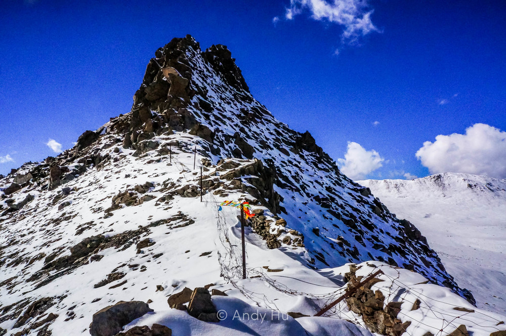 On Riwoche pass, Mt. Gongga Trek