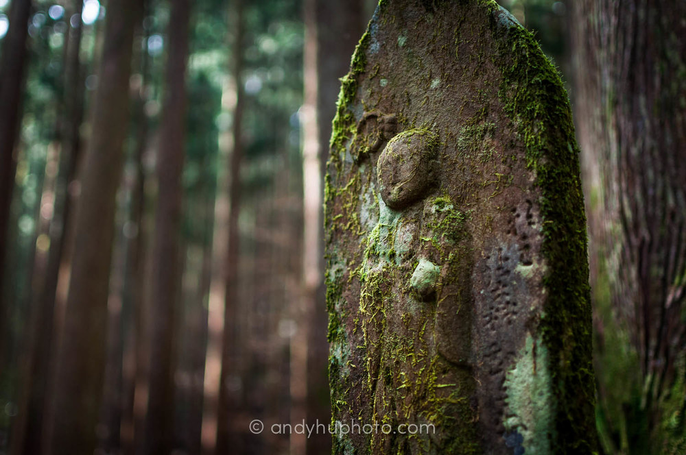 Jizo by the trail-Kumano Kodo Trek