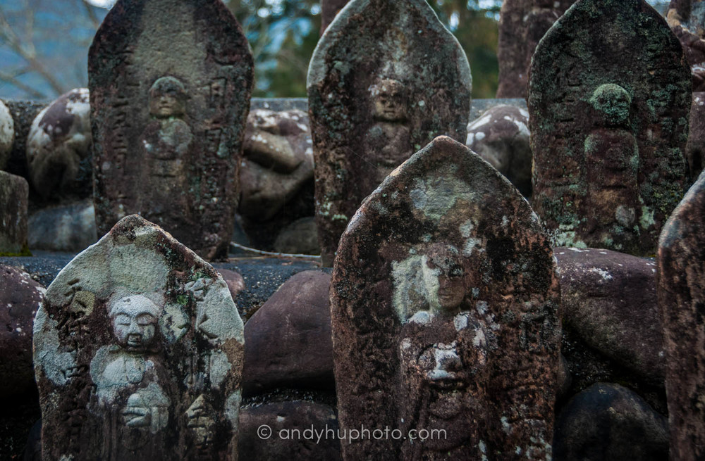 Gravestones in Chikatsuyu