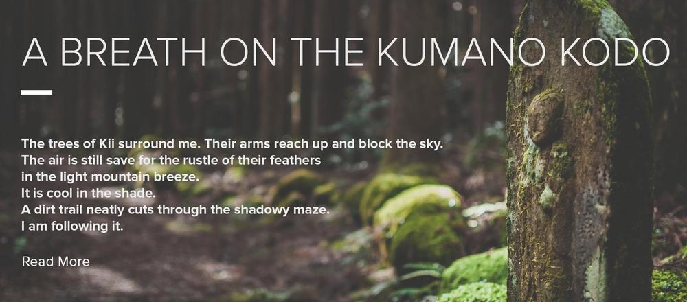 A Breath on the Kumano Kodo