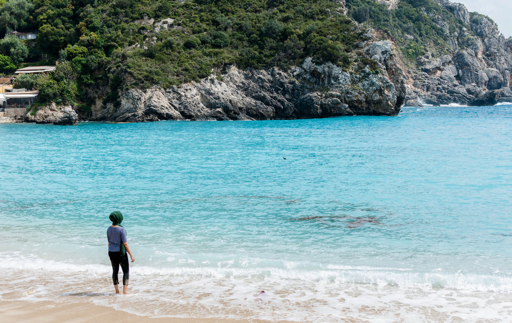 Saphire Ionian Sea, Paleiokastritsa