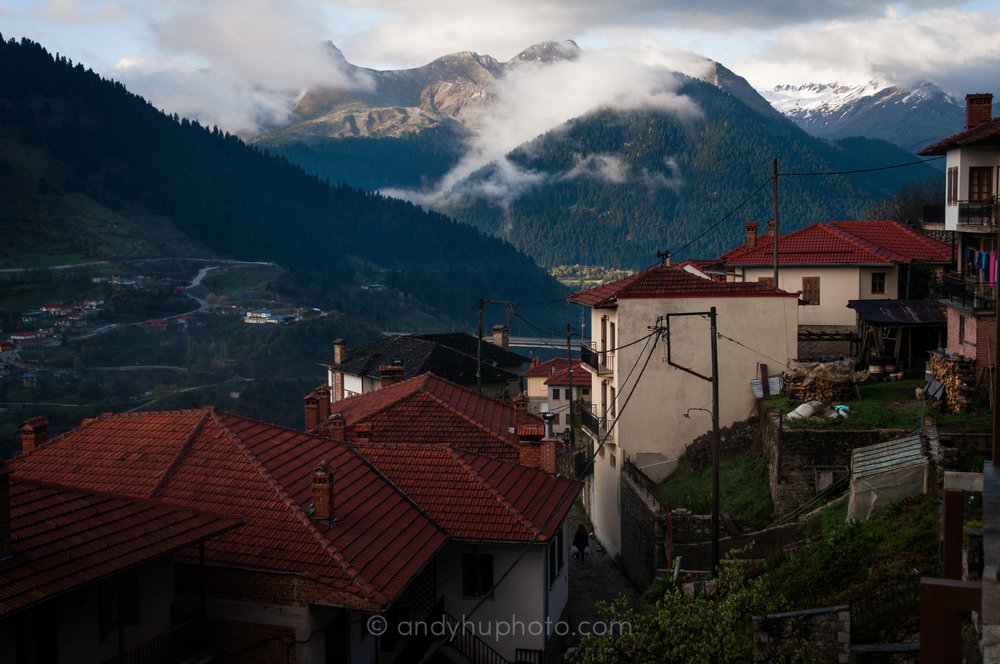 Metsovo at Dawn