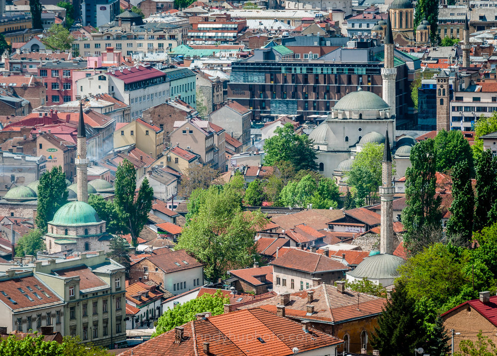 Stari Grad, the oldest section of Sarajevo