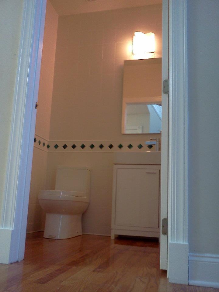 Half Bath — Artisan Building Services,LLC