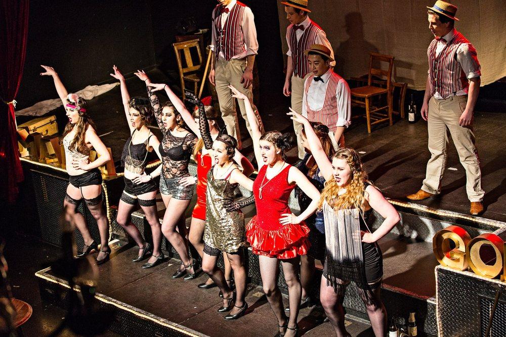 Jenny Smith - Kurt Weill's 'Rise and Fall of the City of Mahagonny'. King's Opera, March 2013. Photograph © KCL Photo Society.