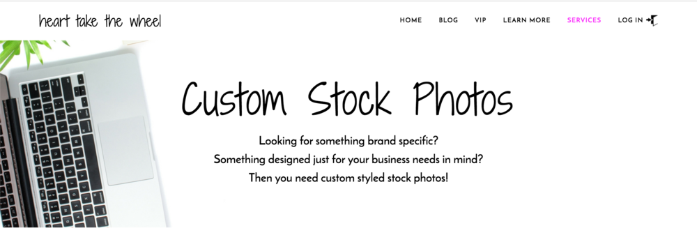Custom Stock Photos