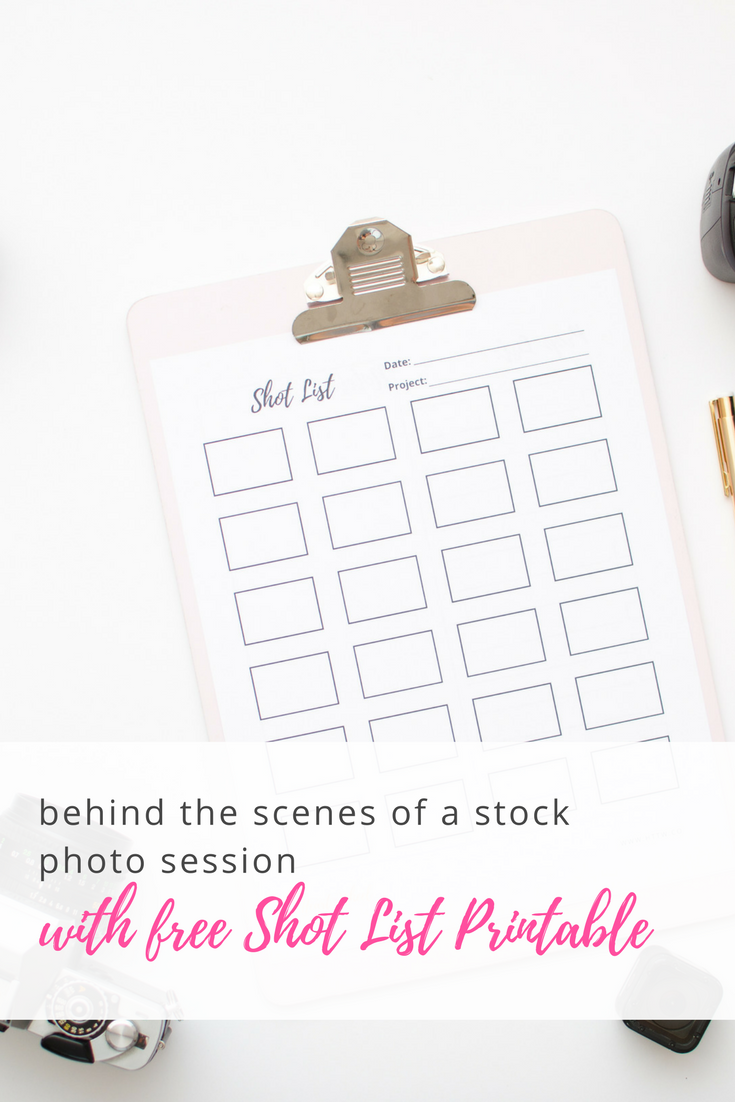 Behind the Scenes of a Stock Photo Session + Free Shot List Printable - hearttakethewheel.com