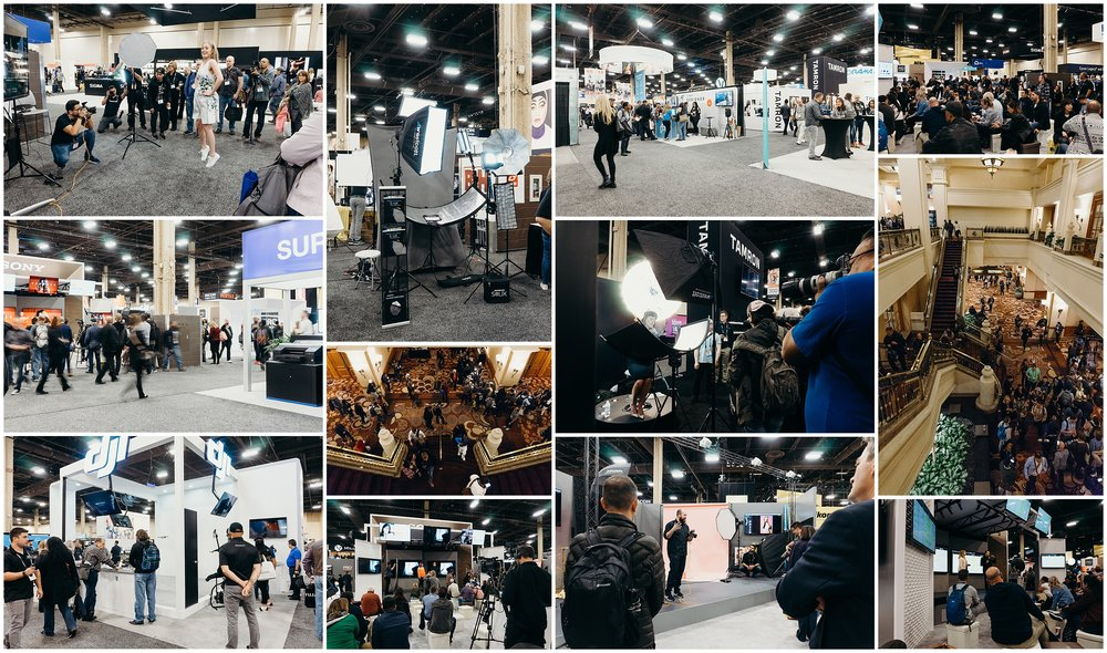 The hustle and bustle of WPPI