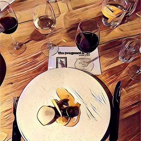 Amazing food & wine had @pregnantmanpub  with special guests @thedeadrabbits  #foodisfun #food #foodismagic #goodeveningfood