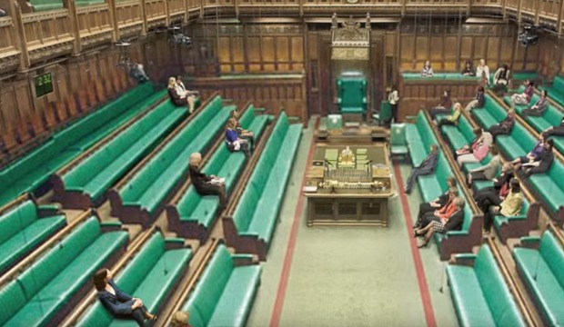 What we can see when Men are photoshopped out of the House of Commons...