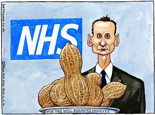 © Steve Bell 2014 Illustration