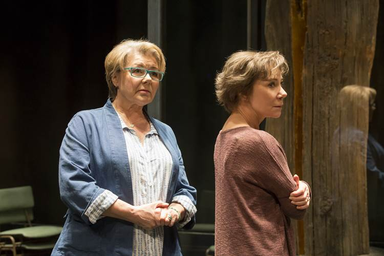 Barbara Flynn and Zoe Wanamaker, 'Elegy', Donmar Warehouse Theatre, London 2016.