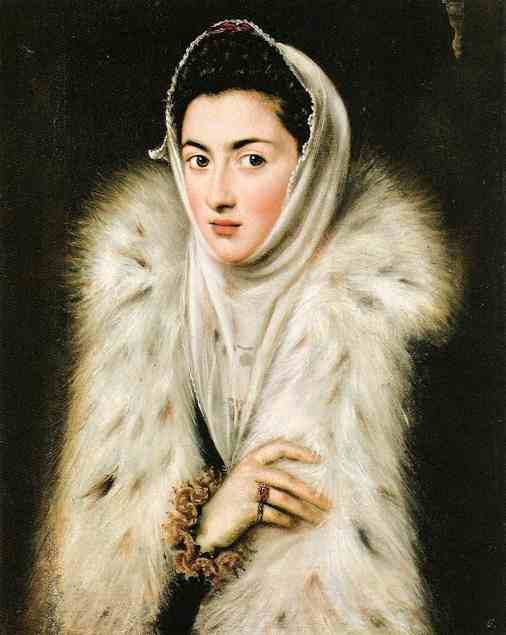 Portrait of Caterina Micaela of Spain, 1591. Sofonisba Anguissola.