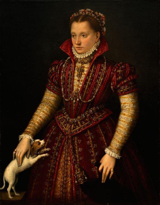 Portrait of a Noblewoman, c.1580. Lavinia Fontana