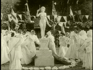 Lois Weber's 'Hypocrites', 1915 - shot at 16 frames a second.