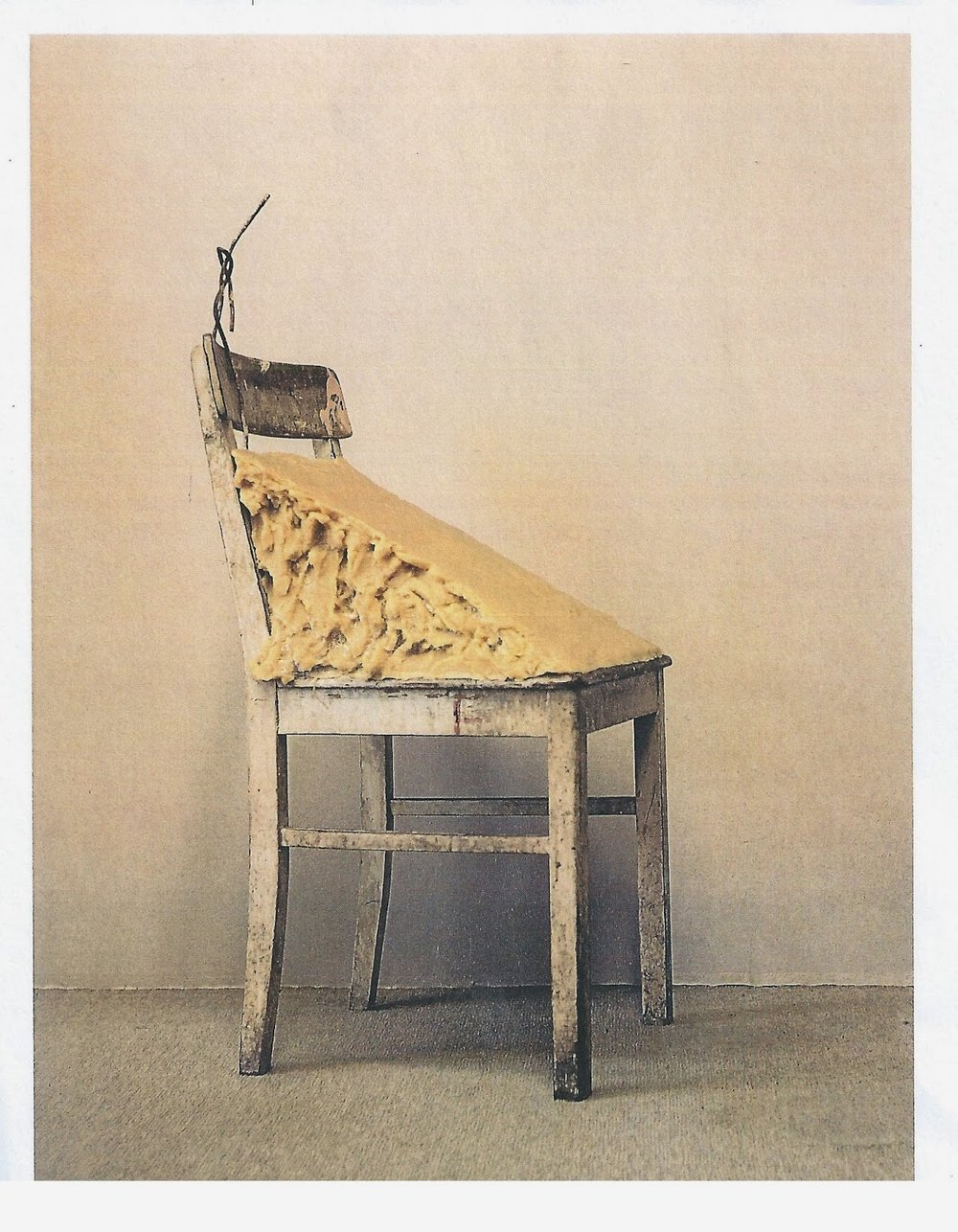 'Fat Chair', Joseph Beuys, 1964.