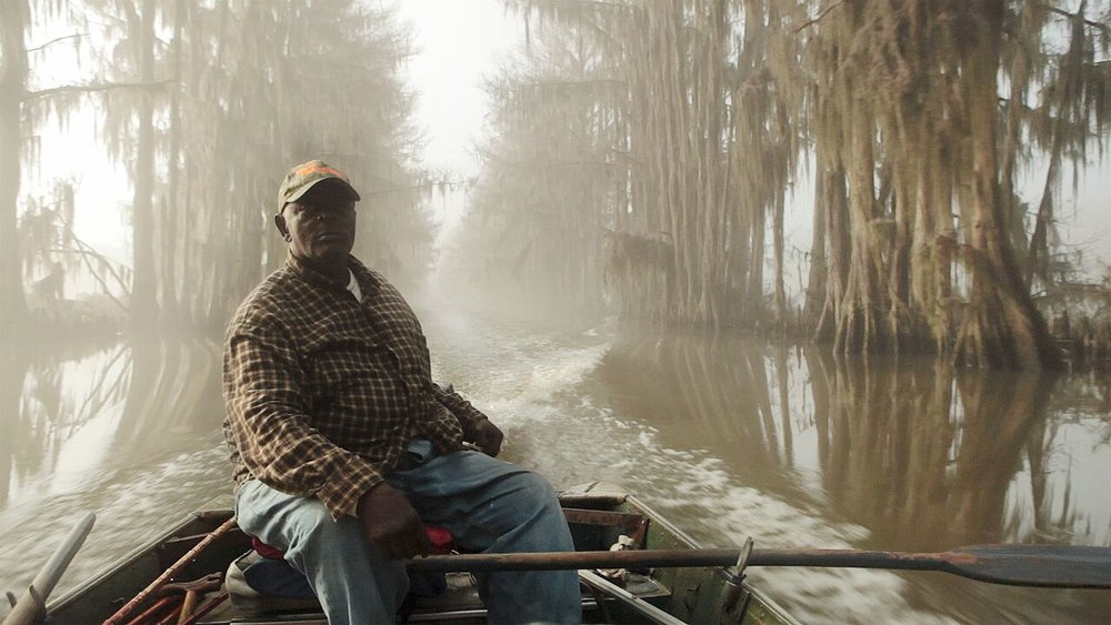 Henry, a fisherman on Lake Caddo with a dark past. UNCERTAIN (2015)