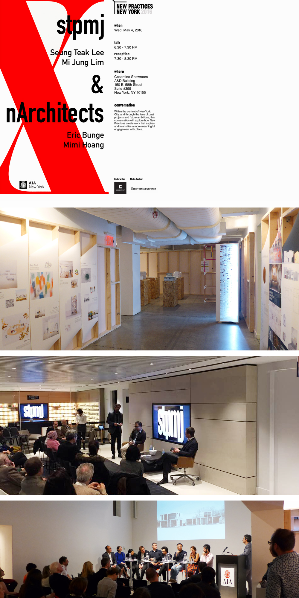 """New Practices New York, a biennial competition since 2006, serves as the preeminent platform in New York City to recognize and promote new and innovative architecture and design firms. The juried portfolio competition is sponsored by the New Practices Committee of the AIA New York Chapter and honors firms that have utilized unique and innovative strategies, both for the projects they undertake and for the practices they have established. 2016 marks the 10th anniversary of the New Practices Committee and the New Practices New York competition.""       See articles in the links below:   AIA New York    Architect's Newspaper    Archdaily    Bustler    Editor at Large    The Architecture Insight    Archinect"