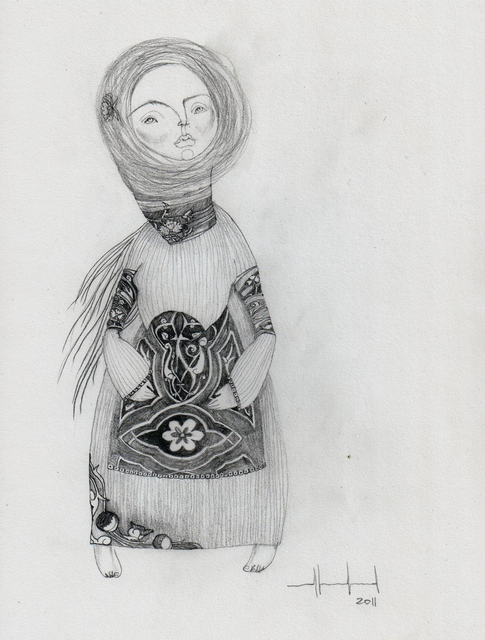 Folk woman
