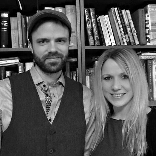 Susanne Trydal och Daniel Åhlin