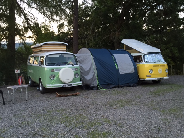 VW Campsite Moomin & Little Miss Sunshine