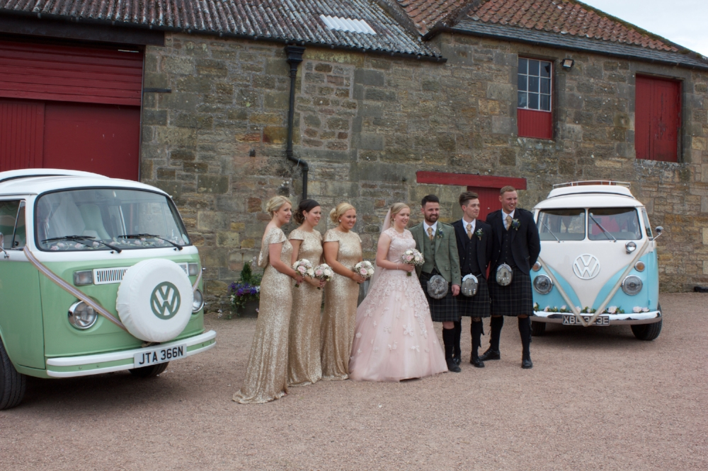 VW Camper wedding Moomin & Lickety Split 1