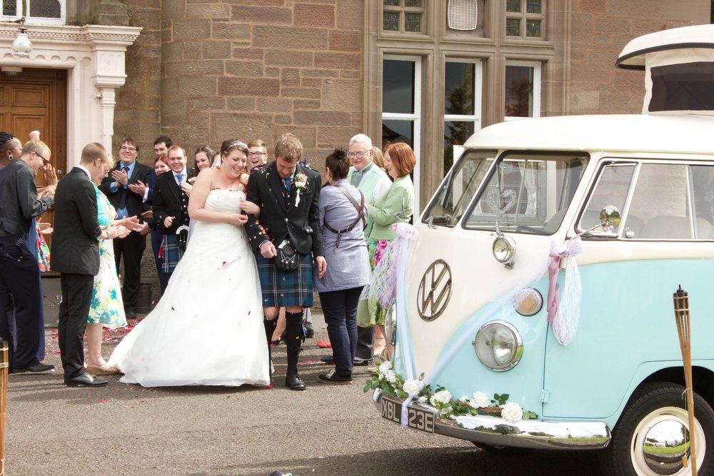 Chauffeur Driven Vintage Wedding Car