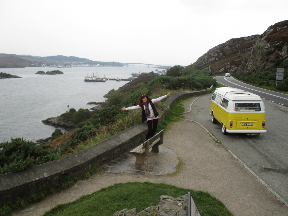 VW Camper Little Miss Sunshine Skye Bridge