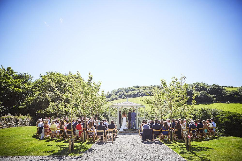 Real wedding at Pengenna Manor in Cornwall wedding venue Julia & Adam 01.jpg