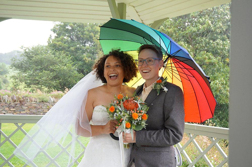 Real wedding at Pengenna Manor in Cornwall wedding venue Melissa & Maia 01.jpg