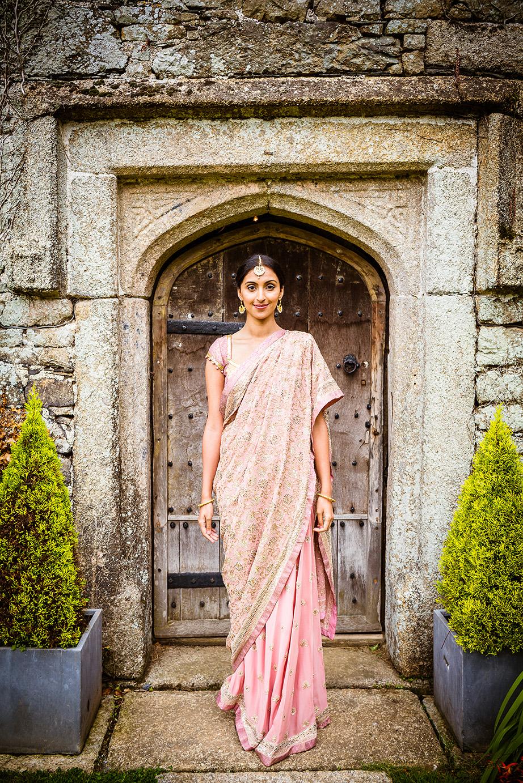 Real wedding at Pengenna Manor in Cornwall wedding venue Mandeep & Daniel 08.jpg