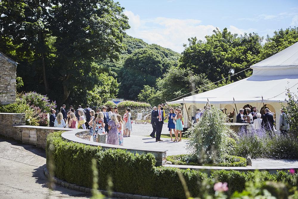 Real wedding at Pengenna Manor in Cornwall wedding venue Julia & Adam 03.jpg