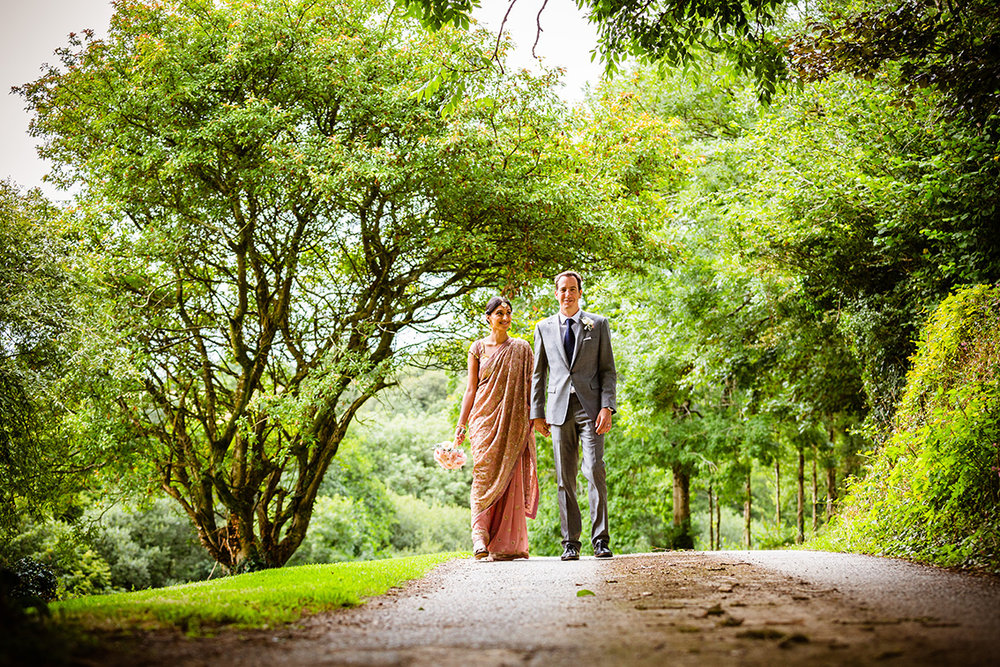 Real wedding at Pengenna Manor in Cornwall wedding venue Mandeep & Daniel 09.jpg