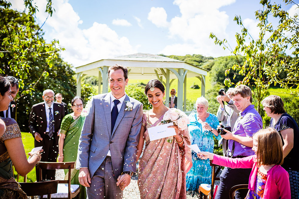 Real wedding at Pengenna Manor in Cornwall wedding venue Mandeep & Daniel 04.jpg