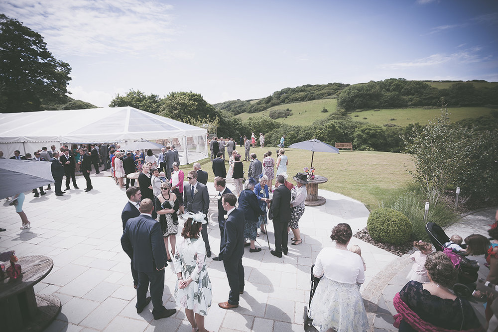 Real wedding at Pengenna Manor in Cornwall wedding venue Charlotte & Richard 15.jpg