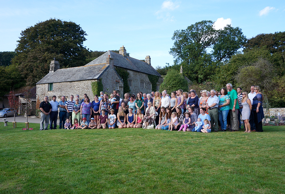 Young Farmers group cream tea event reunion at Pengenna Manor in Cornwall 01.jpg