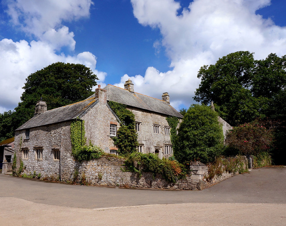 The main full exterior view at wedding venue Pengenna Manor in Cornwall.jpg