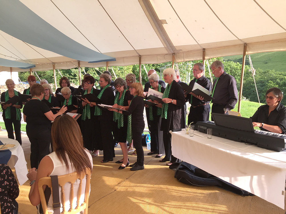 Outdoor Port Isaac Chorale event at Pengenna Manor event venue in Cornwall.jpg